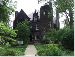 Historic Five Oaks home in Massillon, Ohio. Courtesy Massillon Heritage Foundation