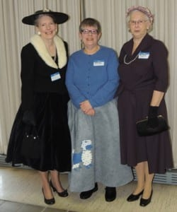 Region 6 attendees celebrated the 1950s theme by dressing for the occasion.