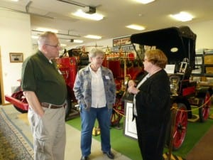 Region 2 meeting attendees tour the Clyde Museum