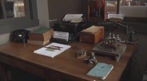 Exhibit at the Bradford Ohio Railroad Museum