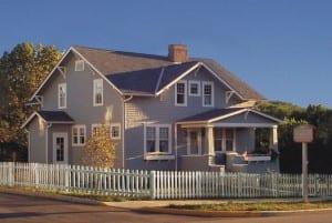 John & Annie Glenn Historic Site, the boyhood home of astronaut and Senator John Glenn in New Concord, Ohio.